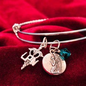 "Jewelry - VDay - ""LPN"" Nurse Bangle Bracelet"